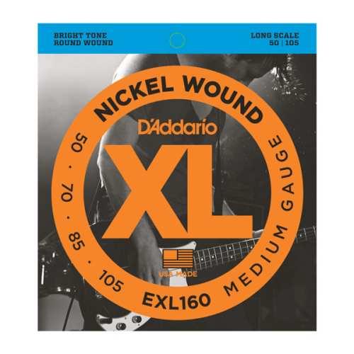 D'Addario EXL-160 Nickel E-Bass Saiten 050-105