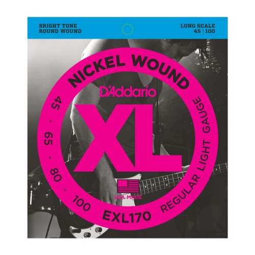 D'Addario EXL-170 E-Nickel Bass Saiten 045-100