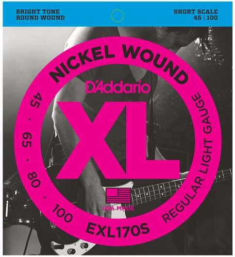 Daddario EXL170S E-Bass Saiten 045-100