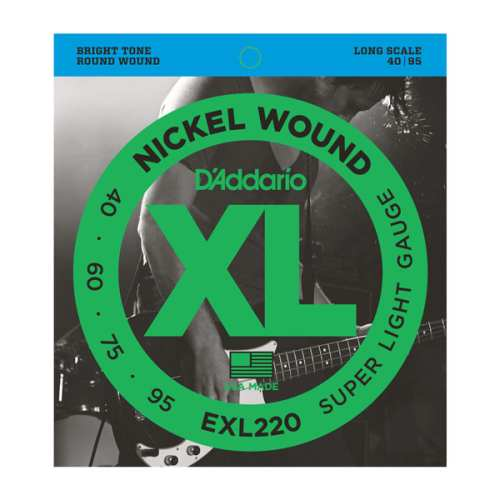 D'Addario EXL-220 Nickel E-Bass Saiten 040-095