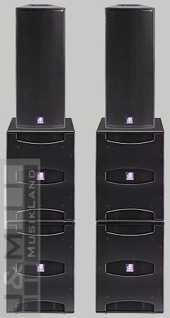 db technologies Flexsys Concert System 2xF212+4xSUB18d+Powercon