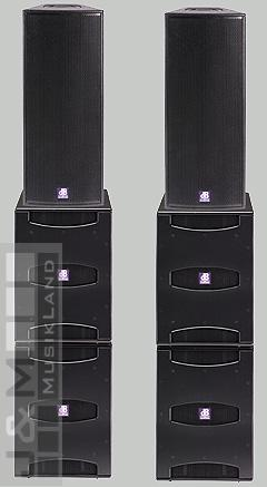 db technologies Flexsys Gala System 2xF212+4xSUB15d+Powercon