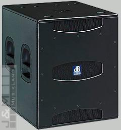 db technologies SUB 18 D