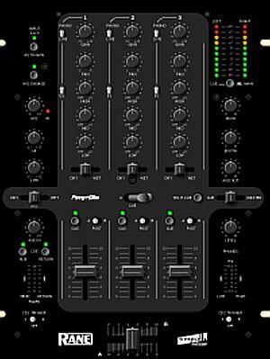 Rane Empath DJ Mixer Black