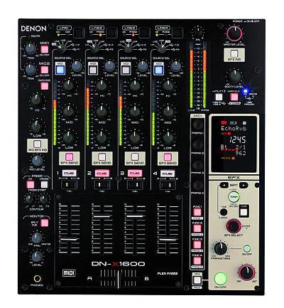 DenonDJ DNX1600 4 Kanal Mixer