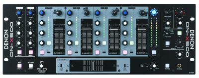 DenonDJ DNX500 4 Kanal Rack Mixer