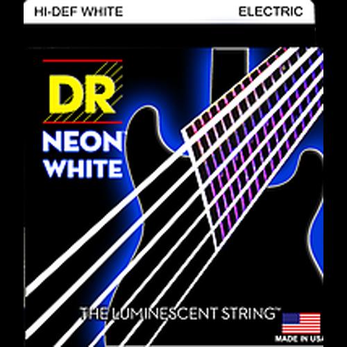DR Neon White 10/46 E-Git Electric Guitar String