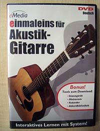 eMedia DVD einmaleins für Akustik-Gitarre