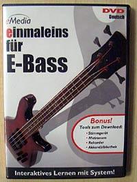 eMedia DVD einmaleins für E-Bass