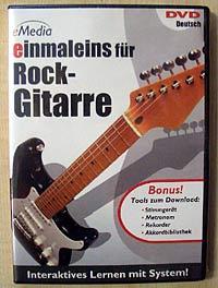 eMedia DVD einmaleins für Rock-Gitarre