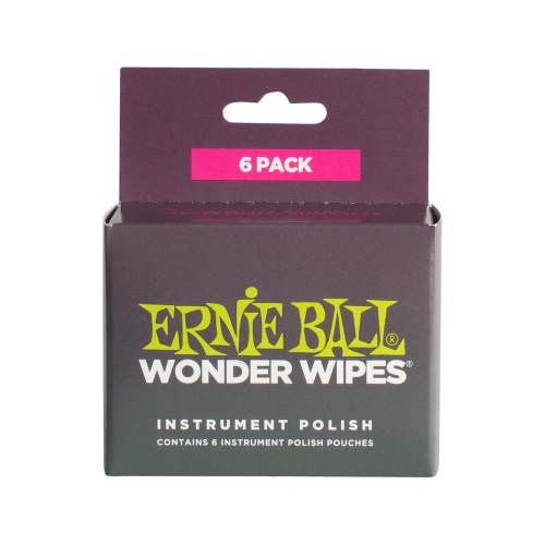 Ernie Ball Wonder Wipes Polish 6er Pack
