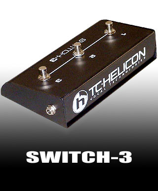 TC Helicon Switch 3