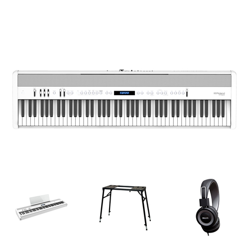 Roland FP-60X-WH Starter Set/Bundle