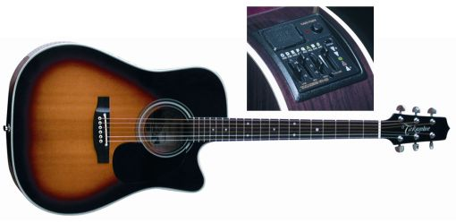 Takamine EF-350 CSBX Westerngitarre