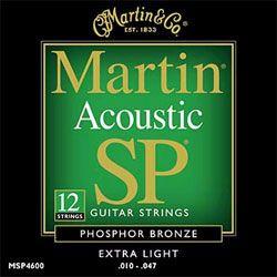 Martin MSP4600 12 String Saiten 010-047