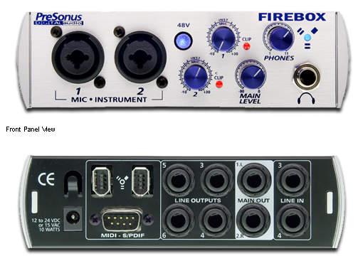Presonus FIREBOX FireWire Recording System