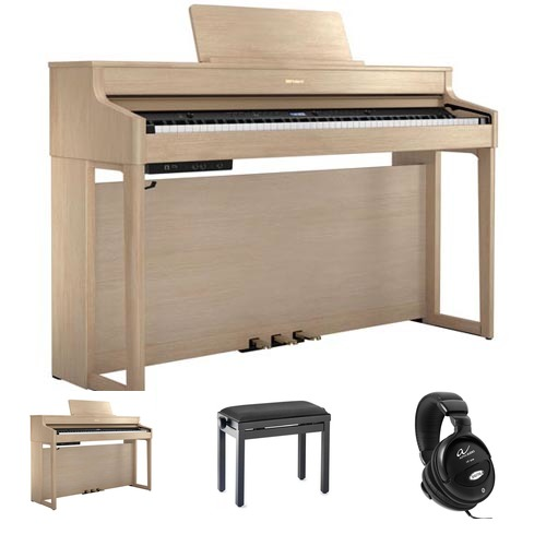 Roland HP702 LA E-Piano Bundle / Set