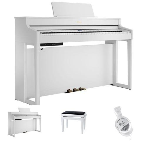 Roland HP702 WH E-Piano Bundle / Set