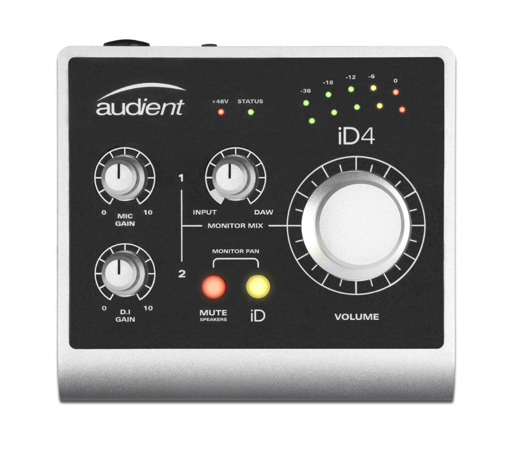 Audient iD 4 HighEnd Audio Interface
