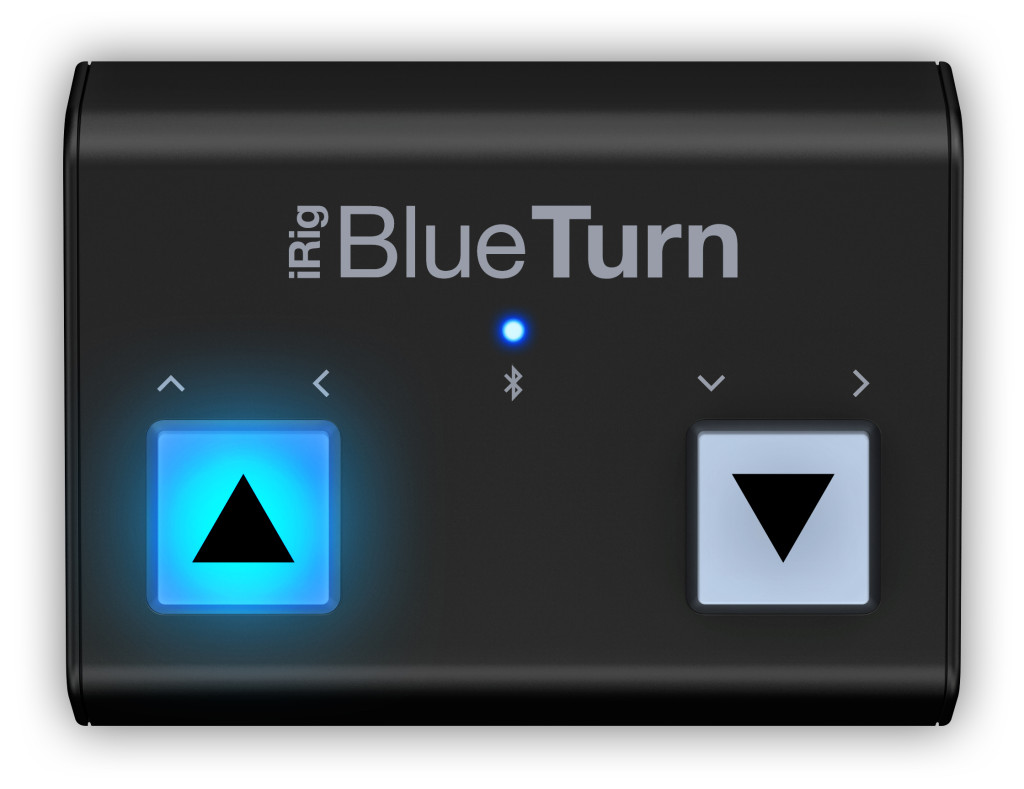IK Multimedia iRig Blueturn Switcher