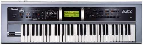 Roland GW-7 Keyboard Arrranger Workstation