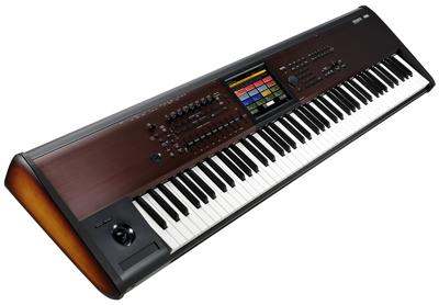 Korg Kronos LS Waterfall Tastatur 88 Tasten Sunburst