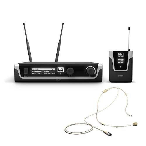LD-Systems U508 BPHH Head-Set Funkmikrofon System