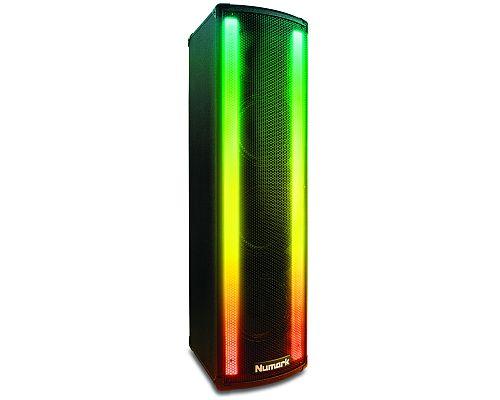 Numark Lightwave aktiv Lautsprecher m. LED