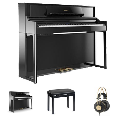 Roland LX-705 PE E-Piano Homeset / Bundle