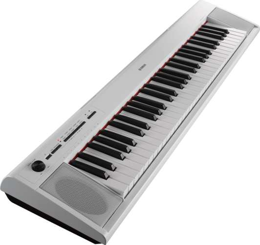 Yamaha NP-12 WH Portable Piano weiss