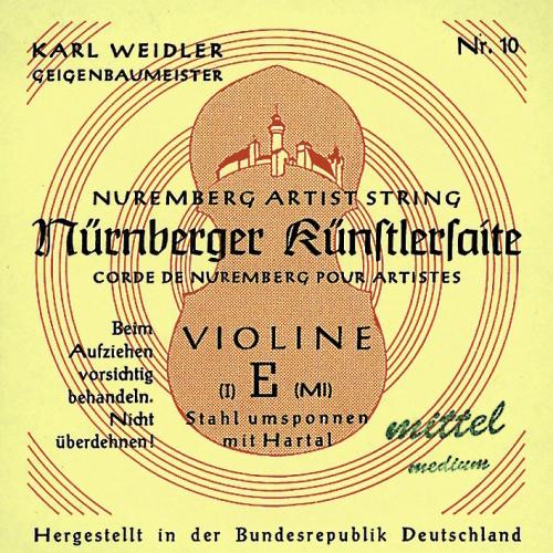 Nürnberger Violine Einzelsaite A 1/2