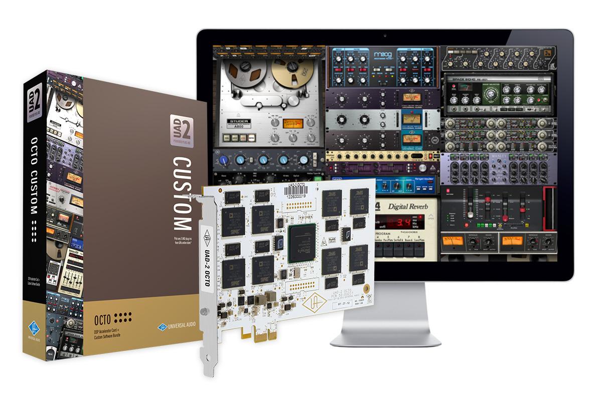 UAD-2 Octo Custom PCIe