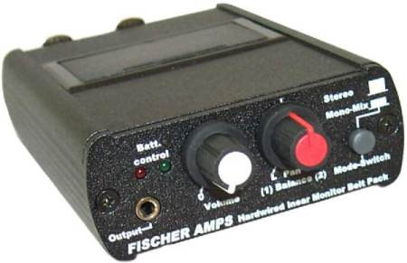 Fischer Amps Hard-Wired InEar Monitor Belt-Pack