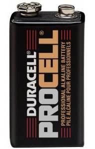 Duracell Procell Block 9V Alkaline Batterie