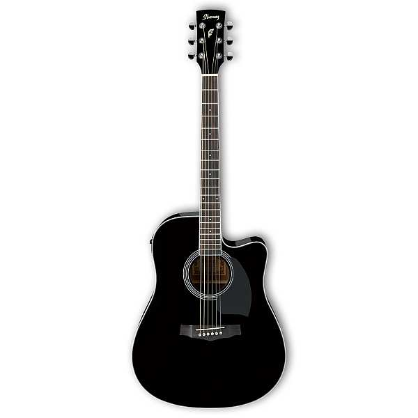 Ibanez PF15ECE-BK Westerngitarre