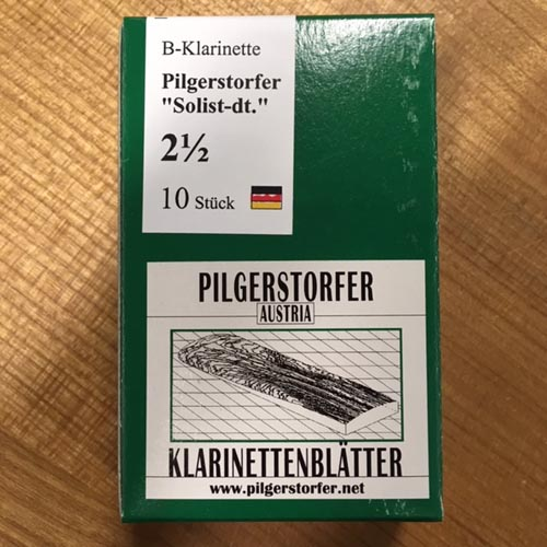 Pilgerstorfer 2,5 Bb Klarinette deutsch Solist 10 Stk.