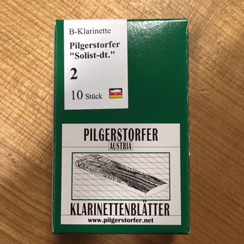 Pilgerstorfer 2,0 Bb Klarinette deutsch Solist 10er Pack