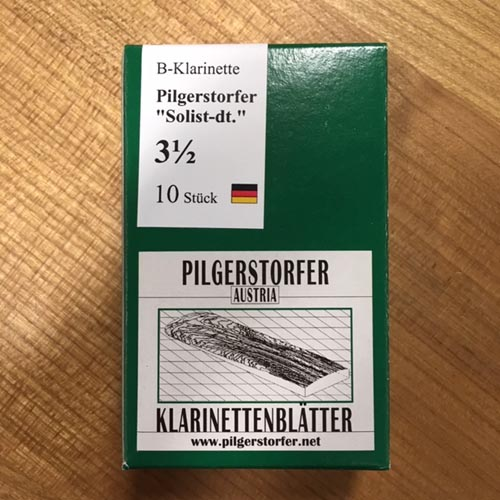 Pilgerstorfer 3,5 Bb Klarinette deutsch Solist 10 Stk.