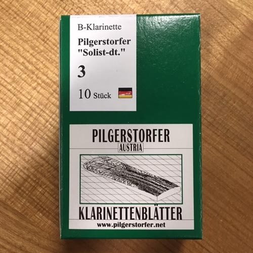 Pilgerstorfer 3,0 Bb Klarinette deutsch Solist 10er Pack