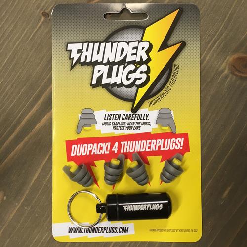 ThunderPlugs Gehörschutz  2Paar inkl. Case TP-B-DP