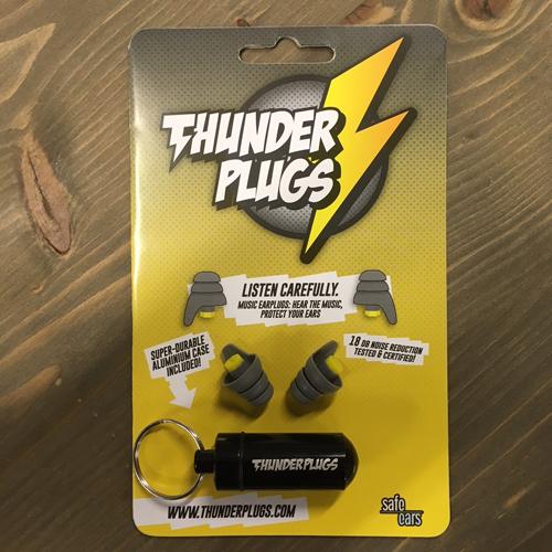 ThunderPlugs Gehörschutz Paar + Case TP-B