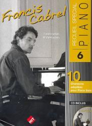 pour piano - Francis Cabrel (+CD)