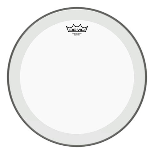 "Remo Powerstroke 4 clear 10"" Fell"
