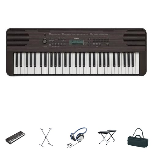 Yamaha PSR-E360 DW Keyboard Home Set