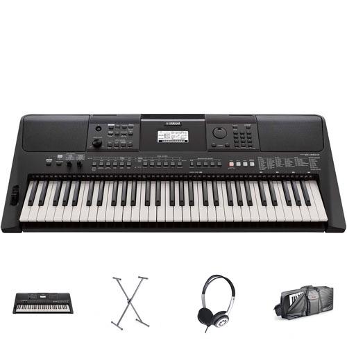 Yamaha PSR-E463 Keyboard Bag Set