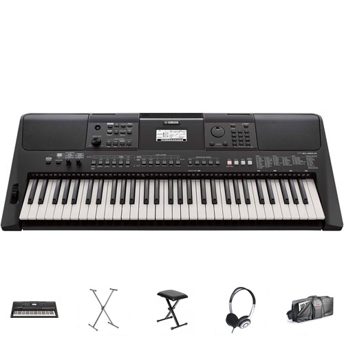Yamaha PSR-E463 Keyboard Mega-Set