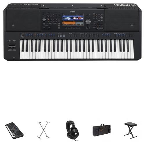 Yamaha PSR-SX700 Keyboard Mega Set/Bundle