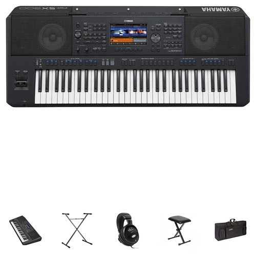 Yamaha PSR-SX900 Keyboard Mega Set/Bundle
