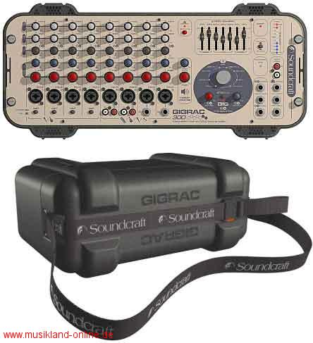 Soundcraft GigRac 300 Watt
