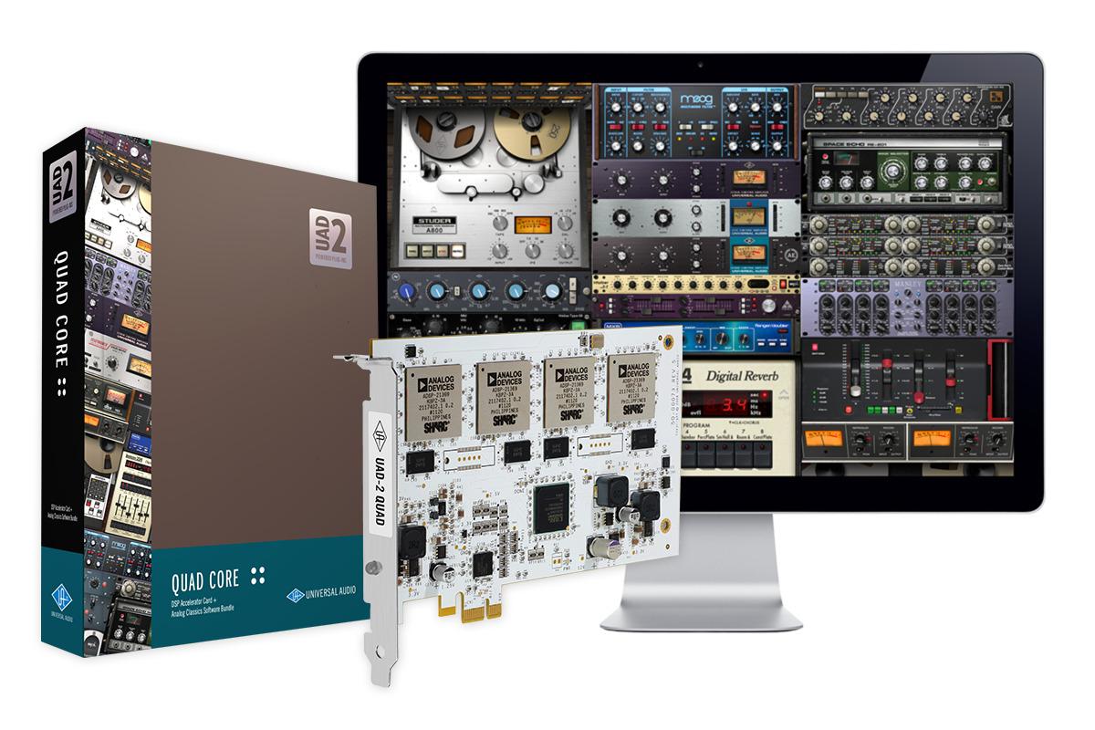 UAD UAD-2 Quad Core PCIe inkl. Analog Classics Plus